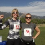 PPH Colorado's Michelle Reesman and Jane Barnard at the Race
