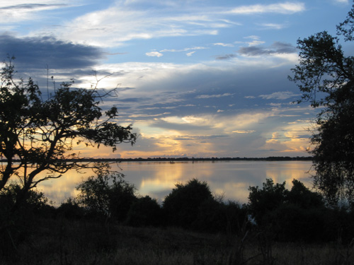 Lake in Africa