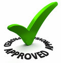 check mark - medical credentialing