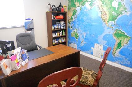 Passport Health Sarasota Consultation Room