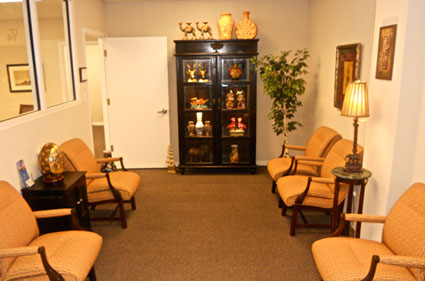 Passport Health Sarasota Waiting Area