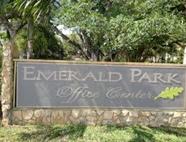 Ft Lauderdale travel clinic complex signage: Emerald Hills