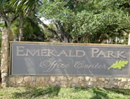 Ft Lauderdale travel clinic complex signage: Emerald Hills