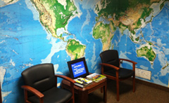 Troy Michigan Travel Clinic Waiting Room