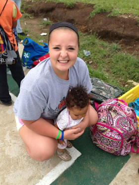 Passport Health Featured Traveler: Mikayla spending time with the kids
