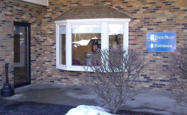 Bettendorf Clinic Entrance