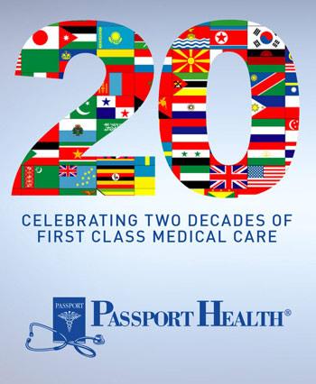 Passport Health Celebrates 20 Years