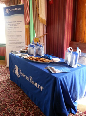 Passport Health Conference Booth