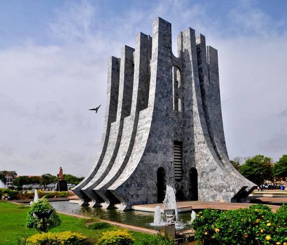 Kwame Nkrumah Memorial Park in Accra,Ghana