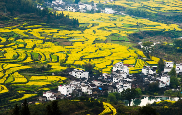 Wuyuan County, Jiangxi Province in China