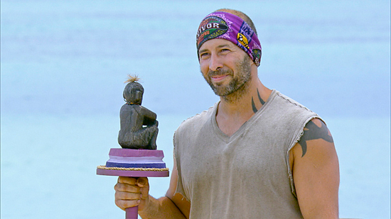 CBS' Survivor Winner Tony Vlachos Statue Challenge