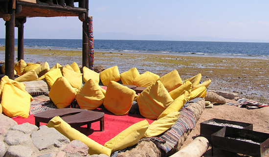 Tea in Dahab, Egypt