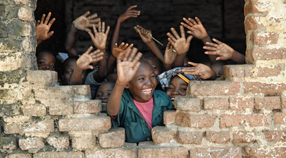 Happy Healthy Children in Africa