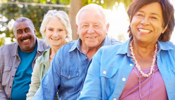 Happy Healthy Seniors