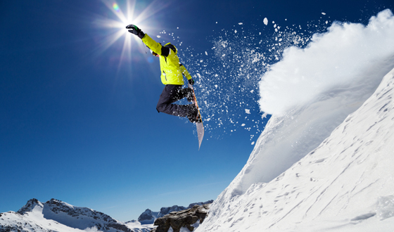 Winter Sports - Snowboarding