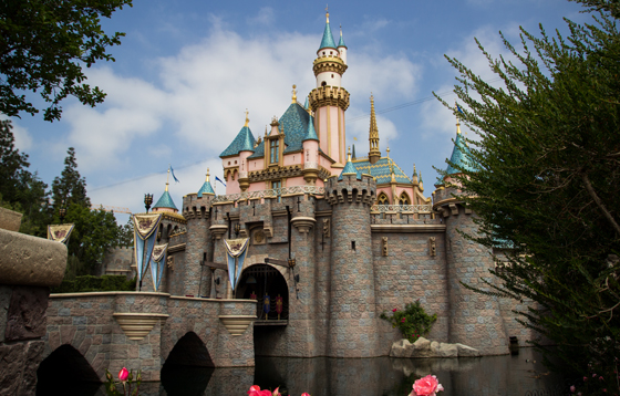 Sleeping Beauty Castle at Disneyland - Courtesy of Harshlight on Flickr