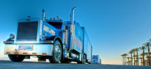 DOT truck