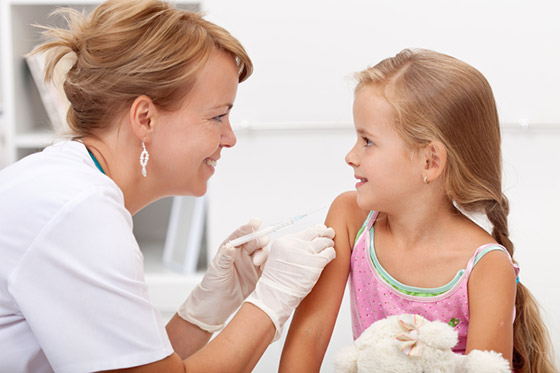 Pertussis routine vaccination