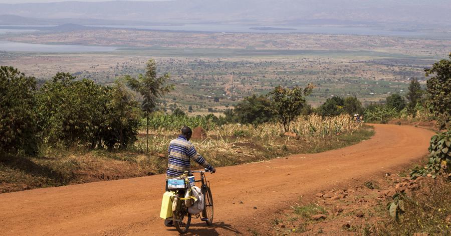 Cycling in Rwanda
