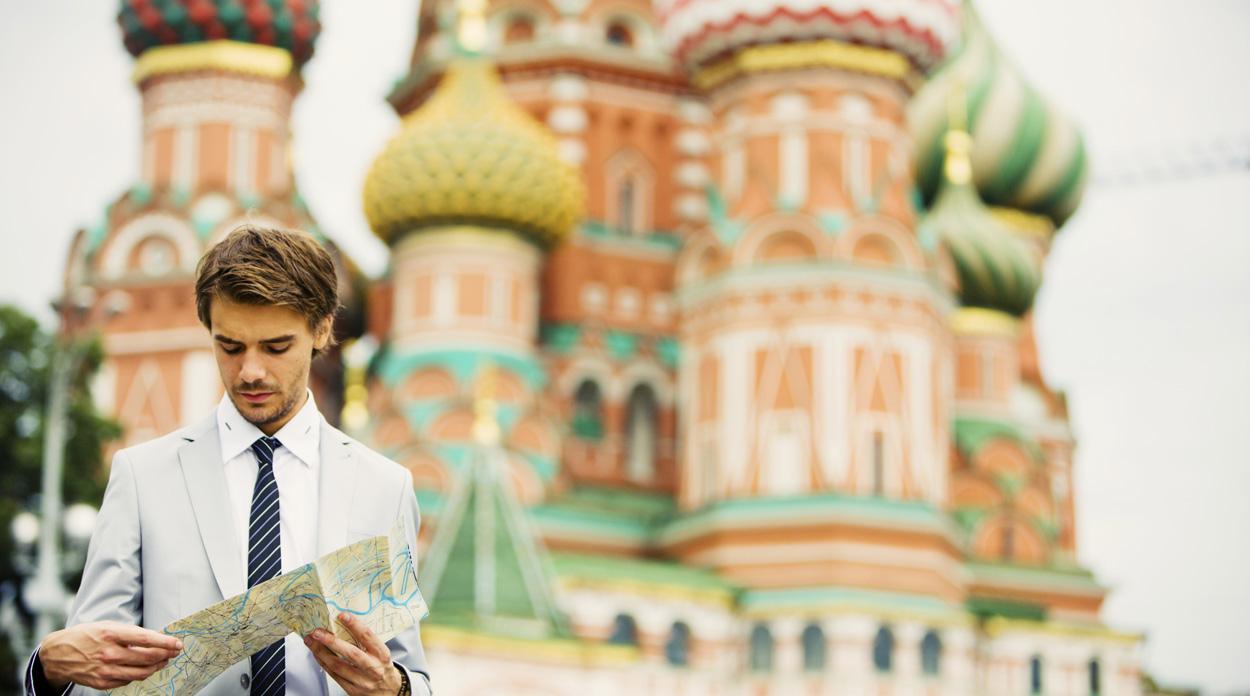 traveler in Russia