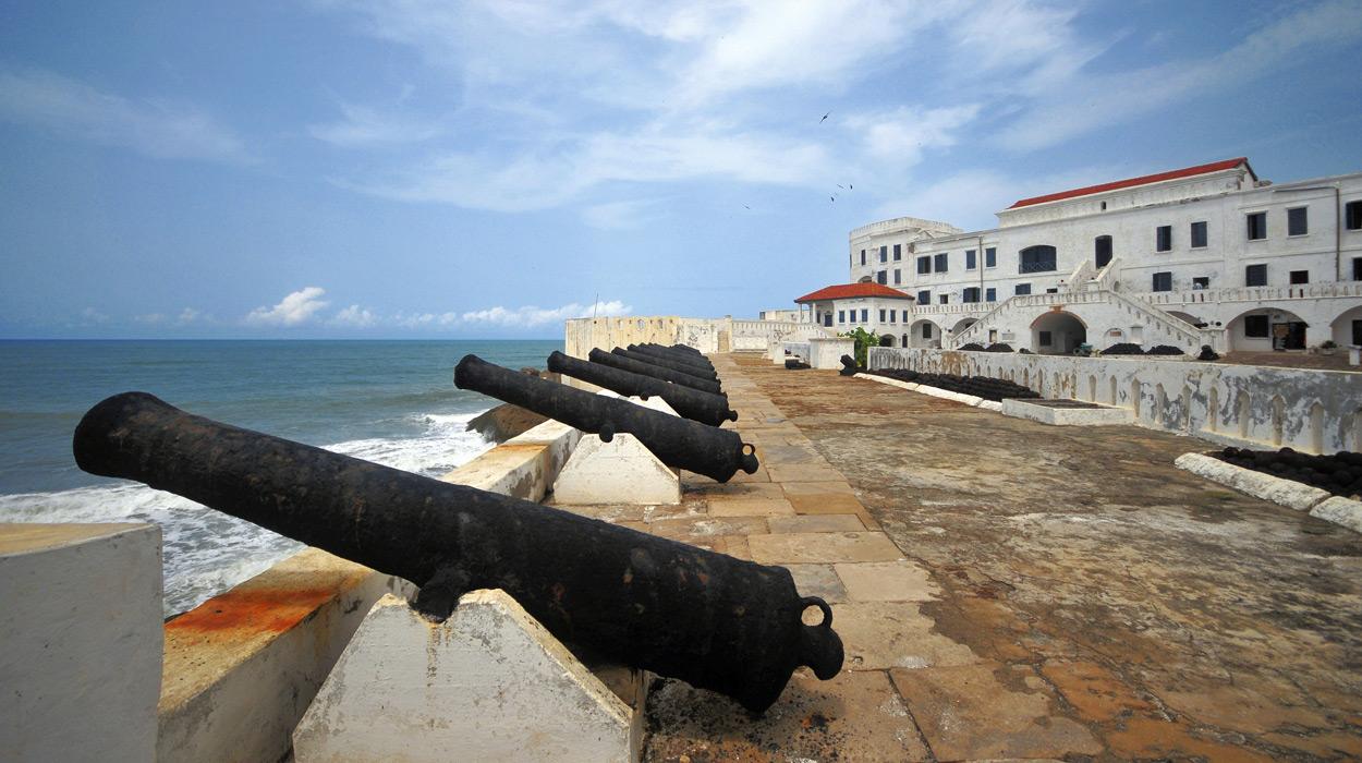 Cape Coast Castle in Ghana