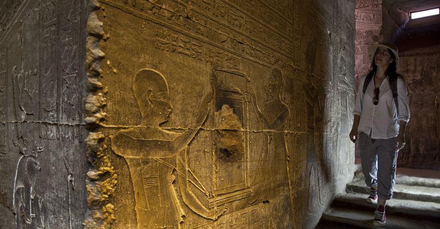 Woman in Tomb