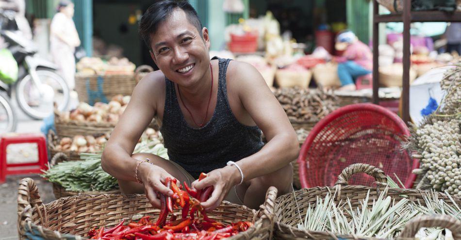 Asian Man in Indonesia