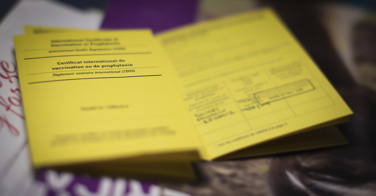 Yellow Fever Card