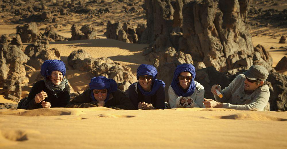 Tourist In The Desert