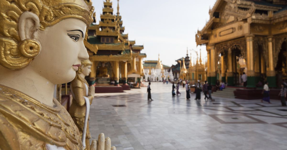 You'll need a visa before visiting the amazing temples and other sites in Myanmar.