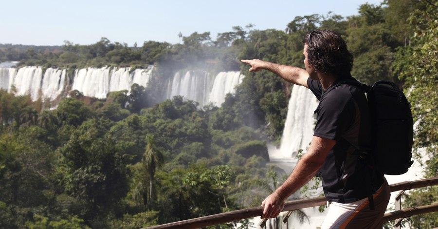 Man at Falls