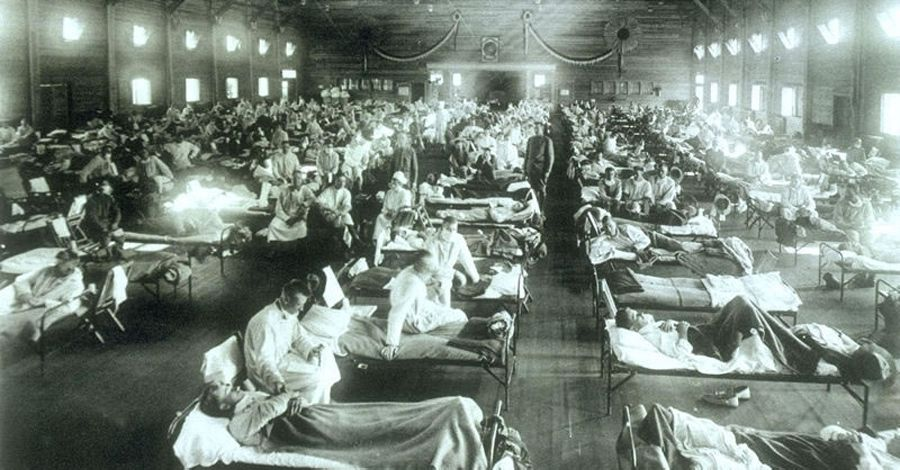 Fort Riley during 1918 influenza pandemic