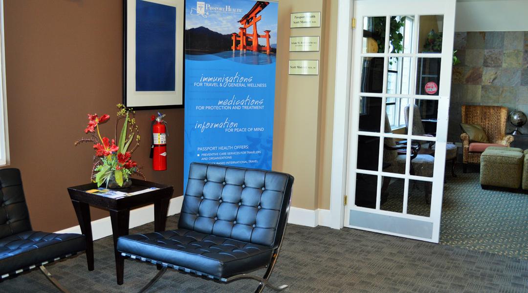 Vernon Hills Illinois Travel Clinic Waiting Room