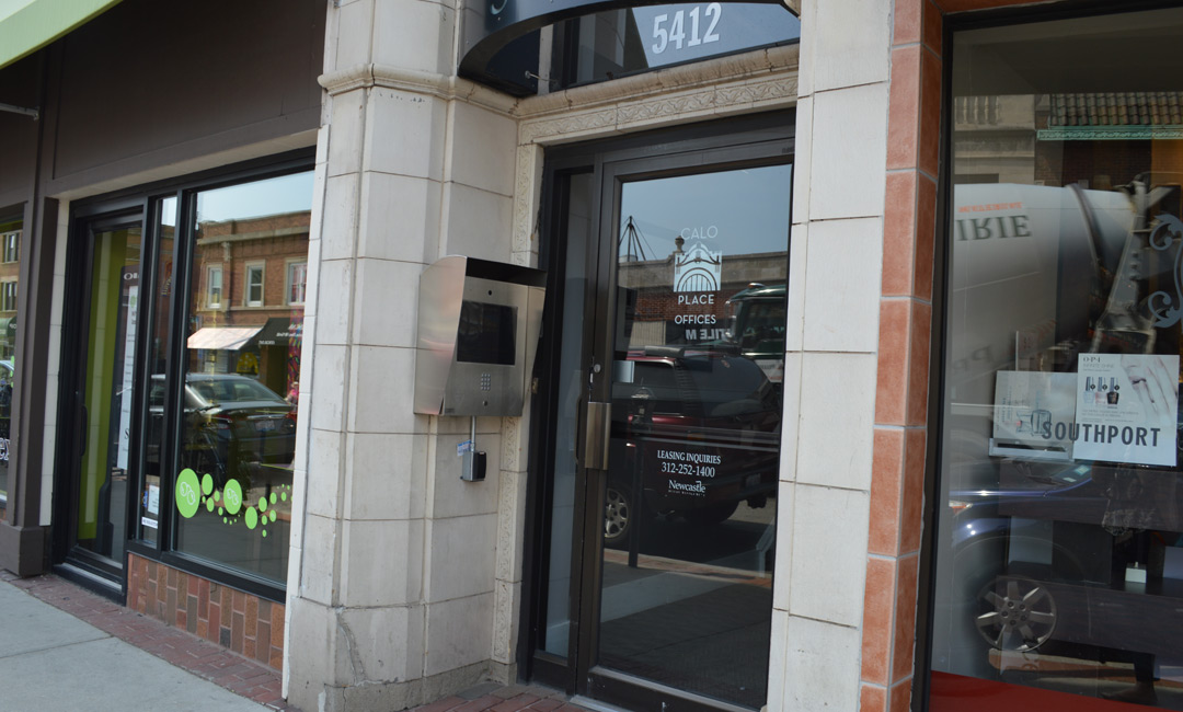 Andersonville Illinois Travel Clinic Entrance