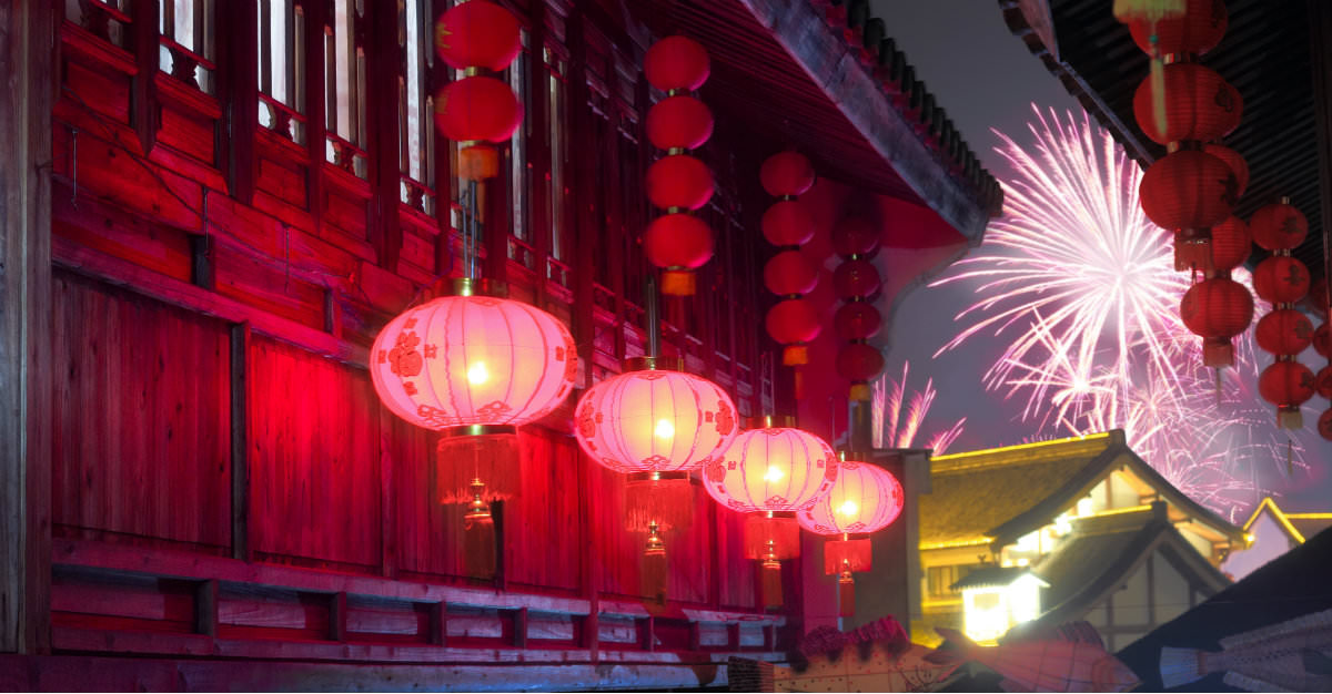 The Lunar New Year is a week long spectacle in countries throughout Asia.