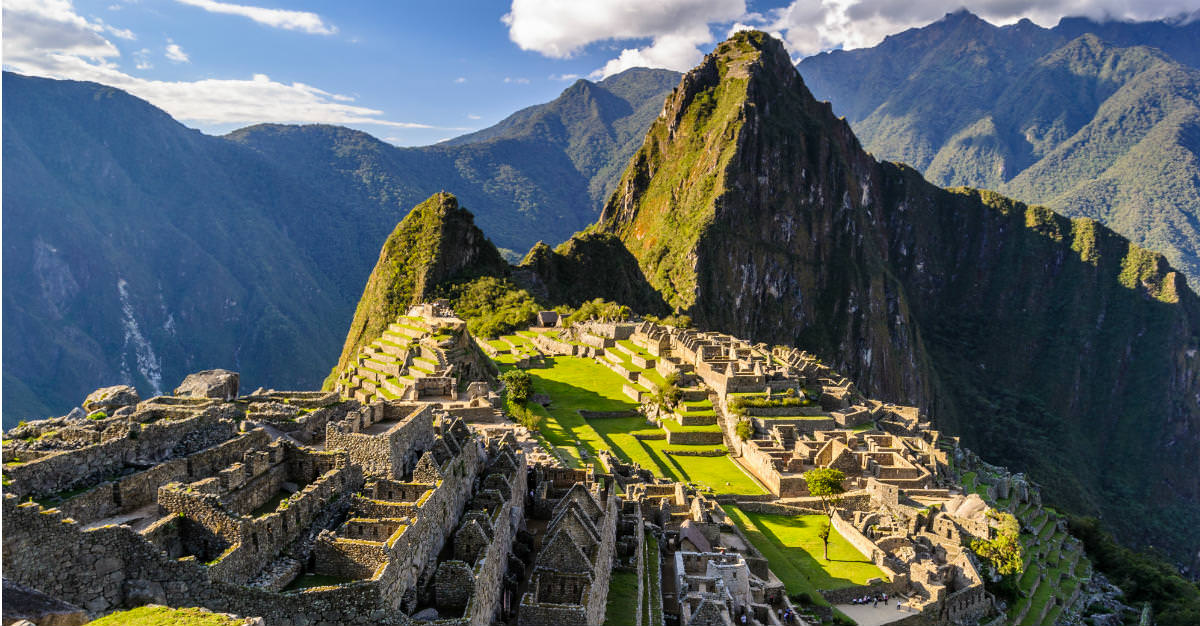 The ruins at Machu Picchu highlight Peru's growing profile as a top travel destination.