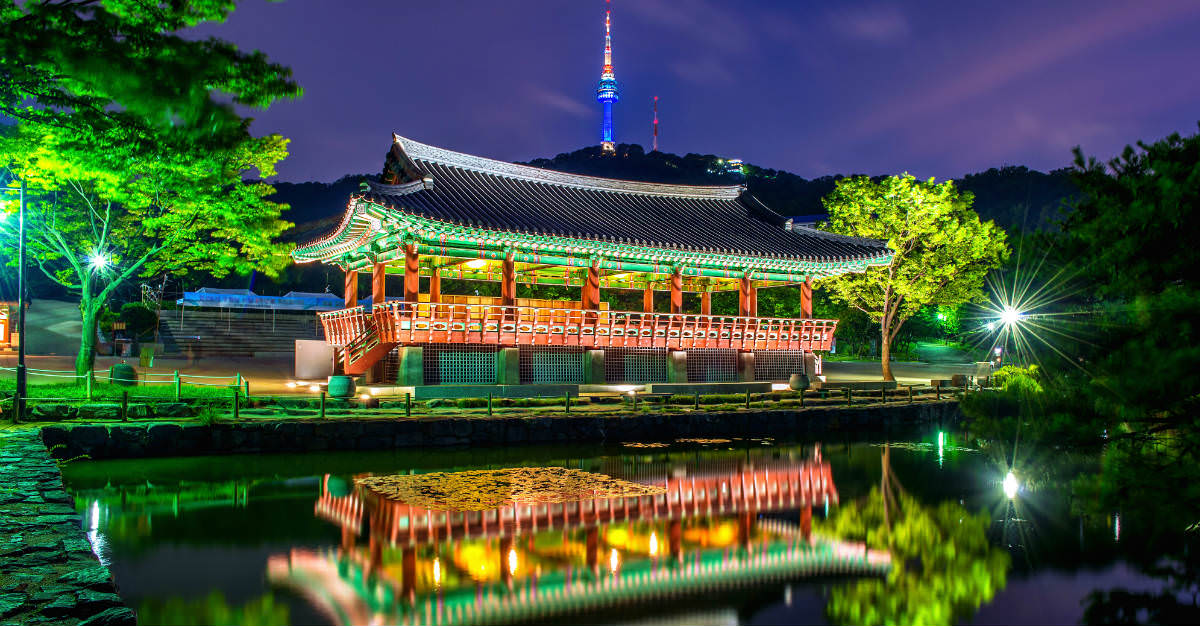 Namsangol Hanok Village offers a look at the various cultures within South Korea.