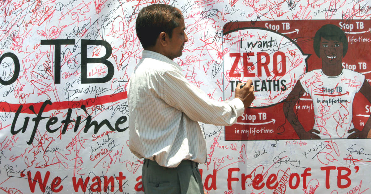 Countries like India still struggle to stop the spread of Tuberculosis.