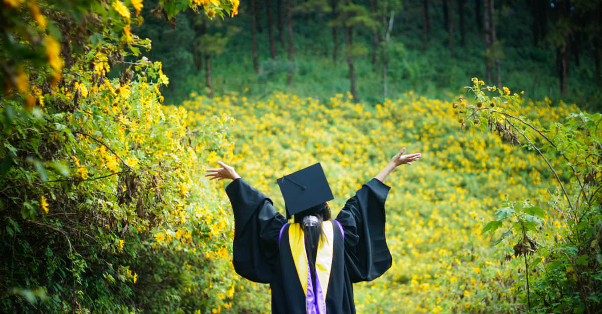 after college graduation