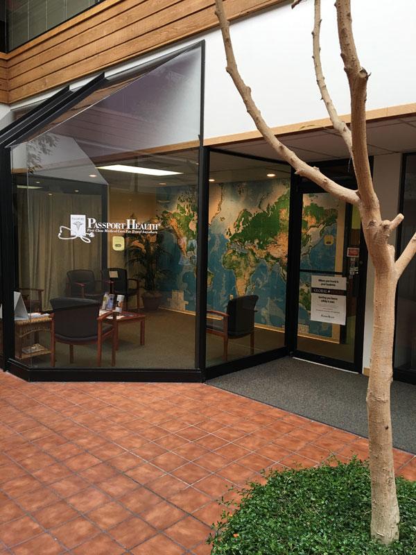 Passport Health Ann Arbor Travel Clinic Interior