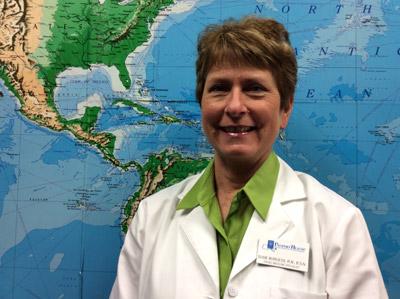 Susie Burgess Travel Medicine Specialist
