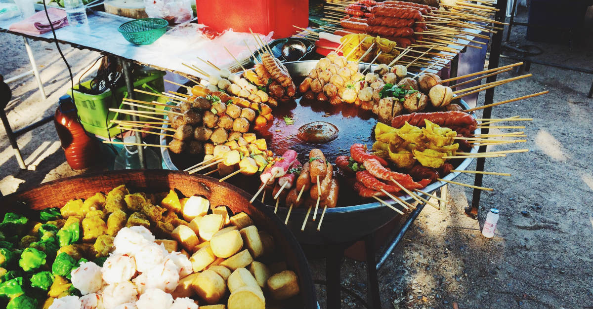 You may want to make sure you're caught up on vaccines before indulging on some Thai street food.