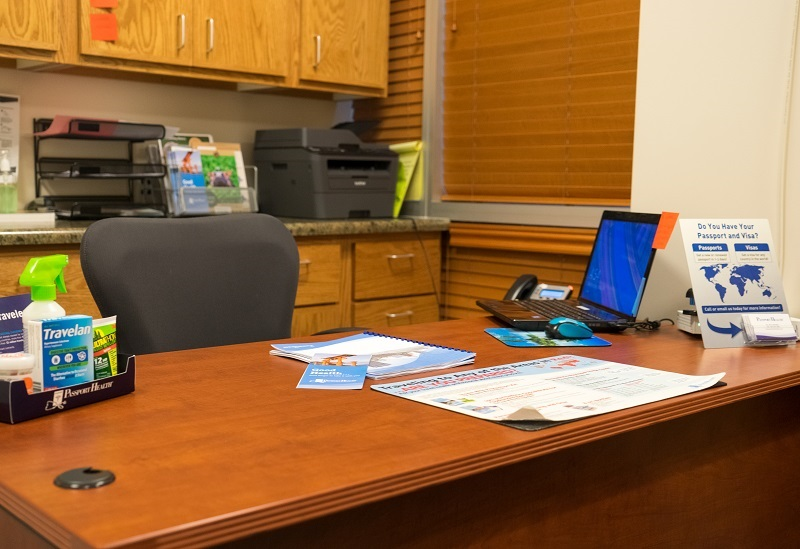 Passport Health Gilbert Travel Clinic Consultation Room