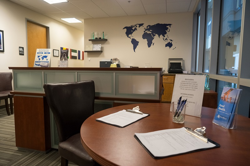 Passport Health Gilbert Travel Clinic Lobby