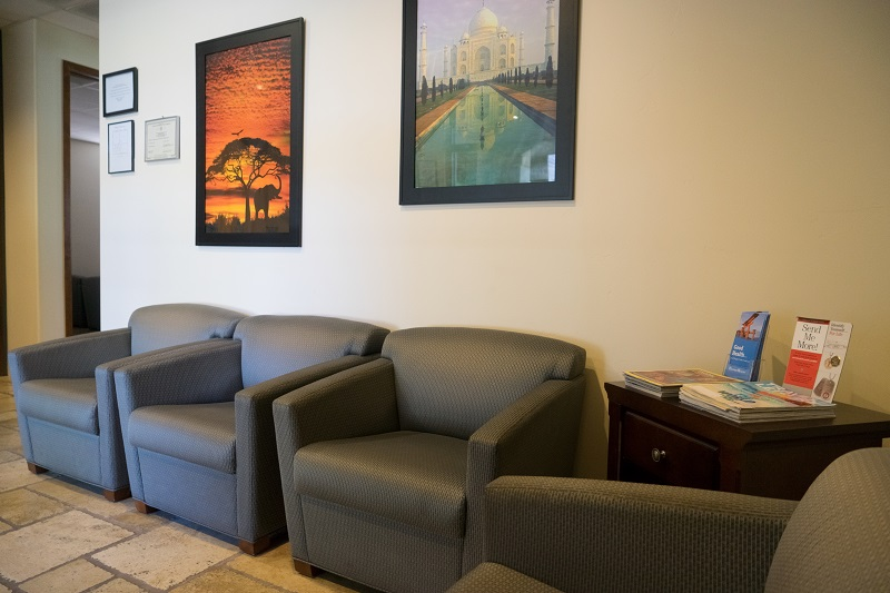 Passport Health Tucson Travel Clinic Lobby