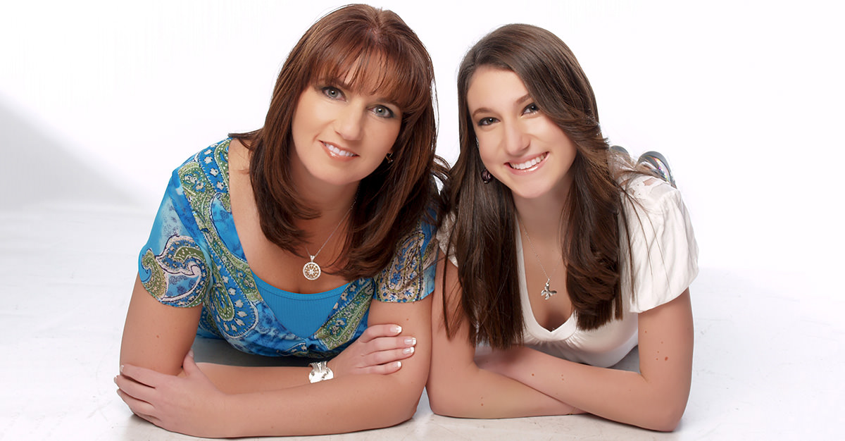 Kimberly Coffey and her mother Patti Wukovits