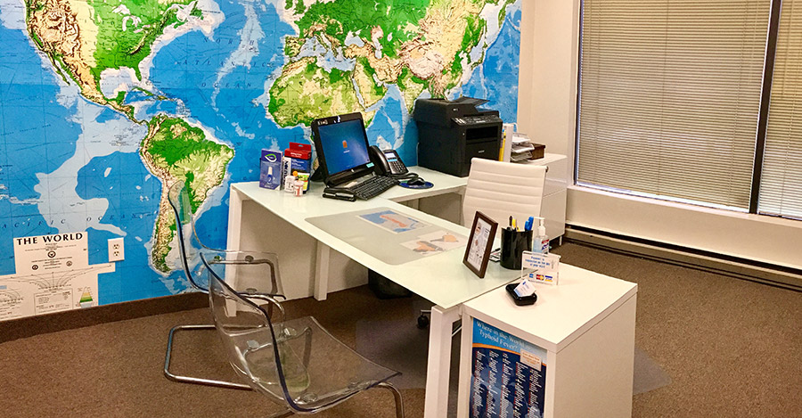 Passport Health's Silver Spring Travel Clinic offers premiere travel medicine services.
