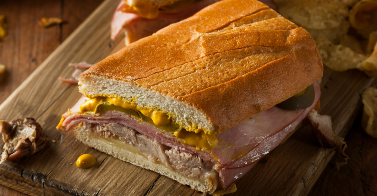 The Cuban sandwich may be a staple in Florida, but it's made the best in Cuba.
