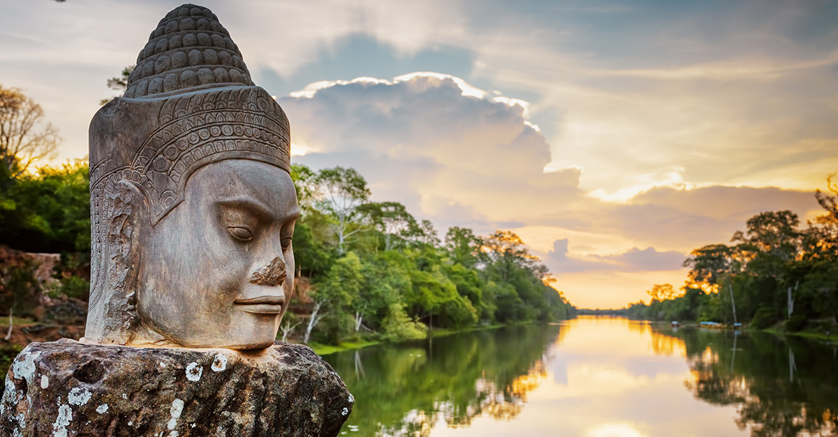 Ruins and historical sites are great places to visit in Cambodia.