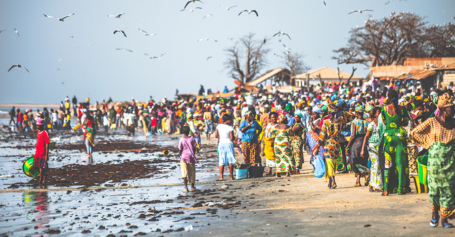 Gambia's beachside markets are some of the best in the world. Make sure you explore them safely with travel vaccines and advice from Passport Health.